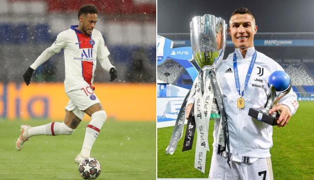 Neymar revela vontade de jogar com CR7 e lista 4 jogadores que admirava quando criança